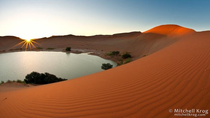 Sossusvlei-Desert-Oasis-Sunset-Panoramic-Photo-NAX0928SV-Mitchell-Krog
