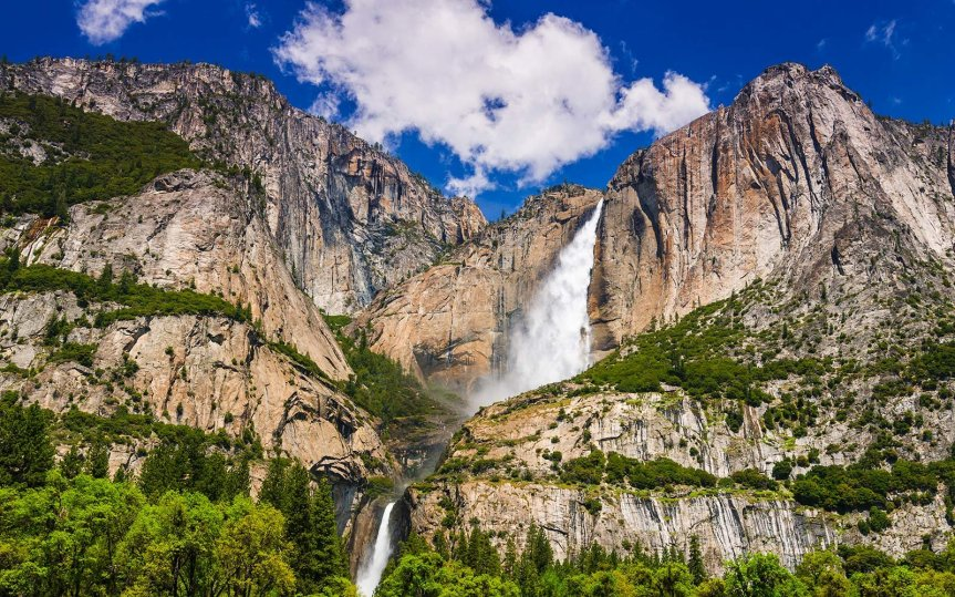 Yosemite Falls , California
