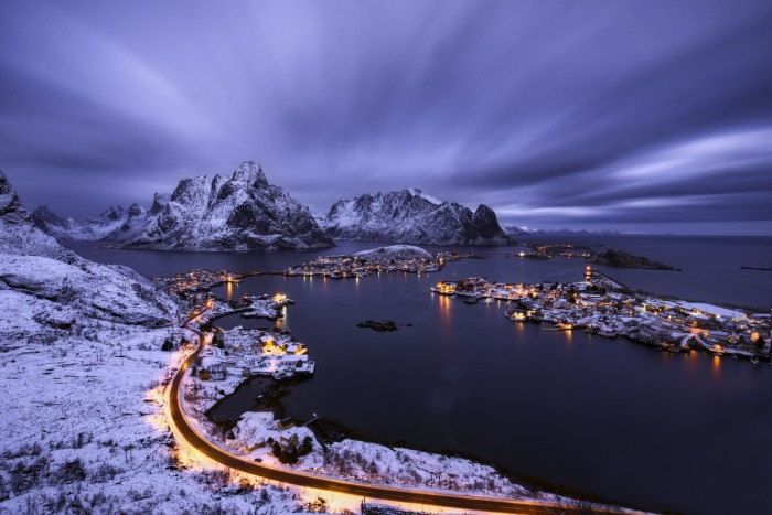 Reine, Norway winter