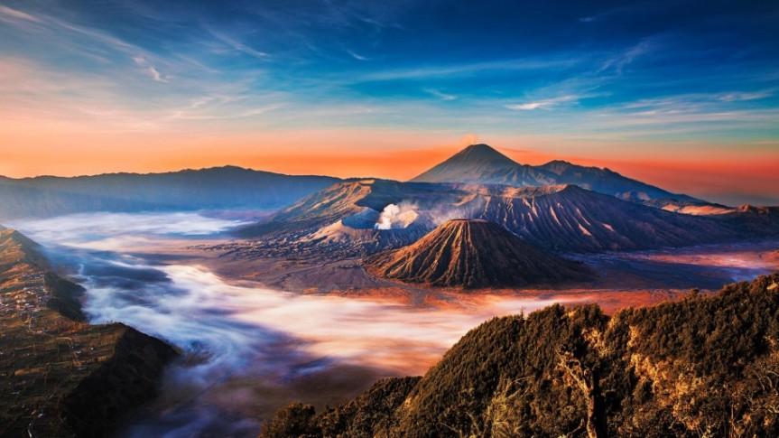 Bromo Volcano: East Java,Indonesia